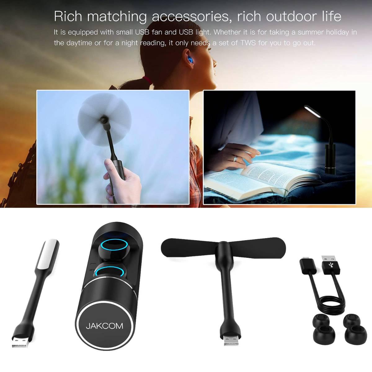 Jakcom TWS Multifunctional Smart True Wireless Headset Pintar Earphone4