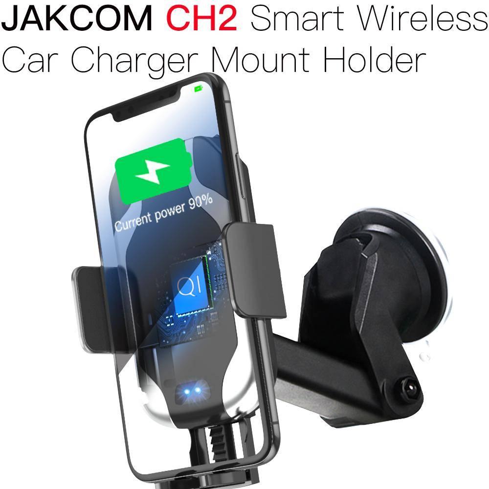 Jakcom CH2 Smart Wireless Car Charger Holder Nirkabel Qi Mobil Pintar0