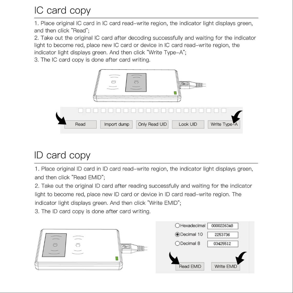 JAKCOM CD2 RFID NFC Replicator Access Card ID IC Duplicator 2 in 12