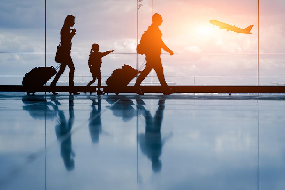 带孩子一起旅行