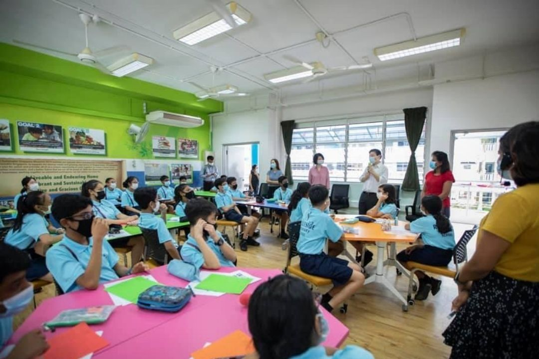 Singapore classroom