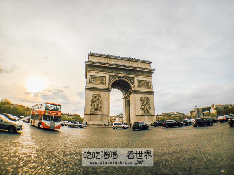 吃吃喝喝看世界 巴黎凱旋門