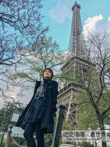 吃吃喝喝看世界 巴黎eiffel tower