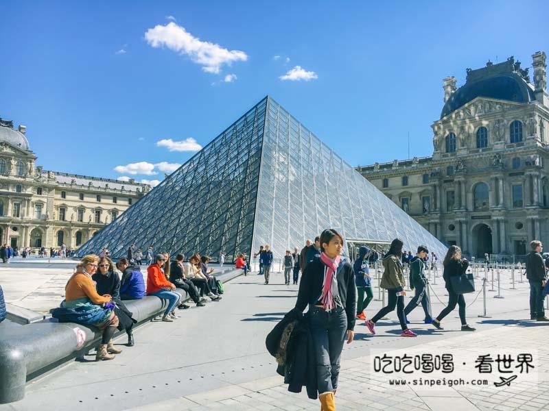 吃吃喝喝看世界 巴黎羅浮宮Musee du Louvre