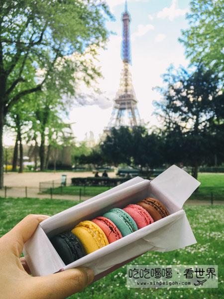 吃吃喝喝看世界 巴黎馬卡龍macaron