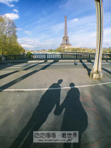 吃吃喝喝看世界 巴黎Pont de Bir-Hakeim
