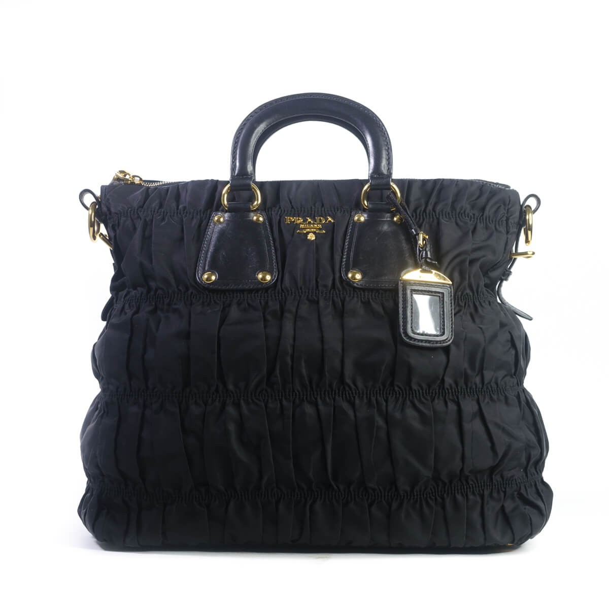 49284dc318385d Tessuto Nylon Gaufre Tote Bag