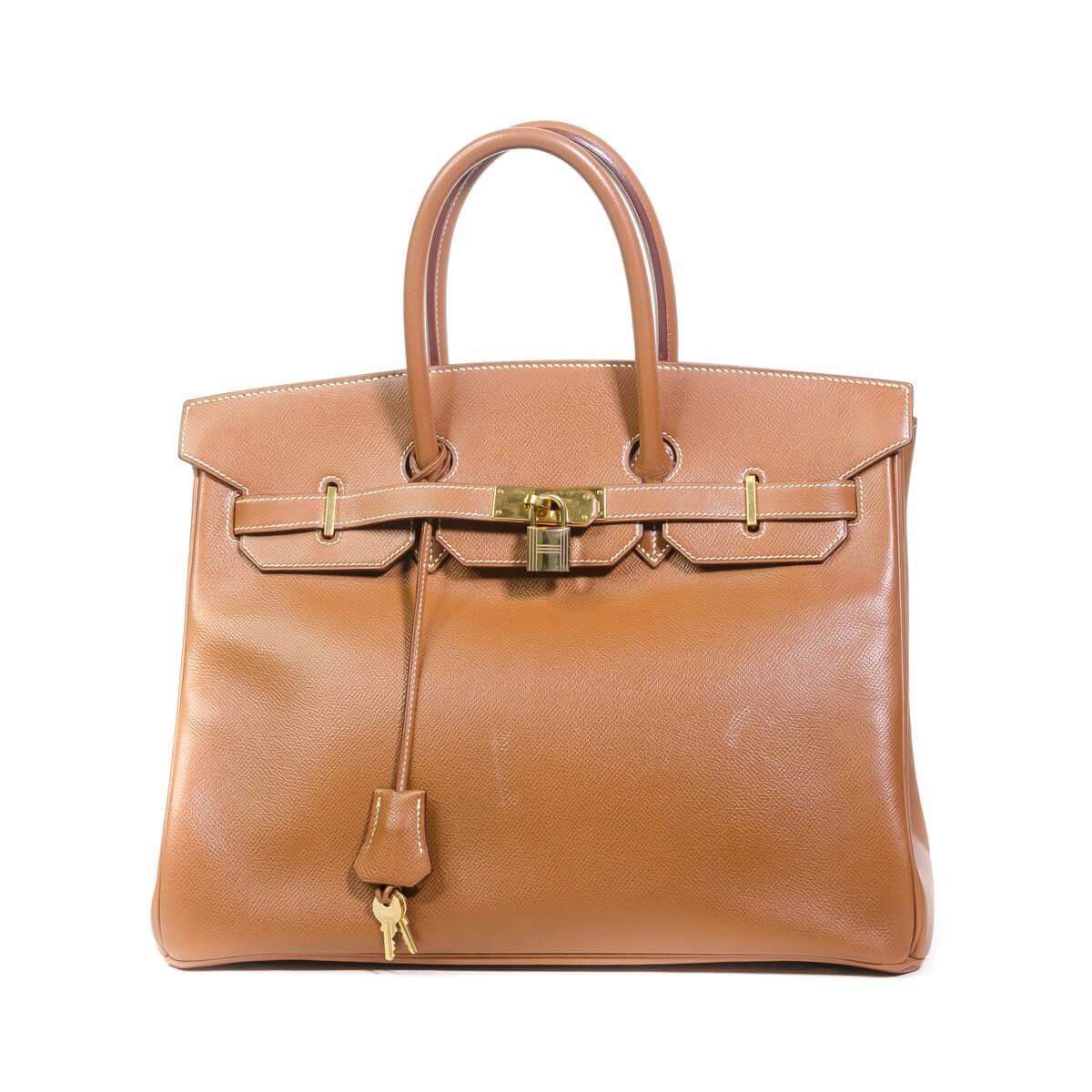 34630aaf3b Birkin 35 Bag Caramel Togo