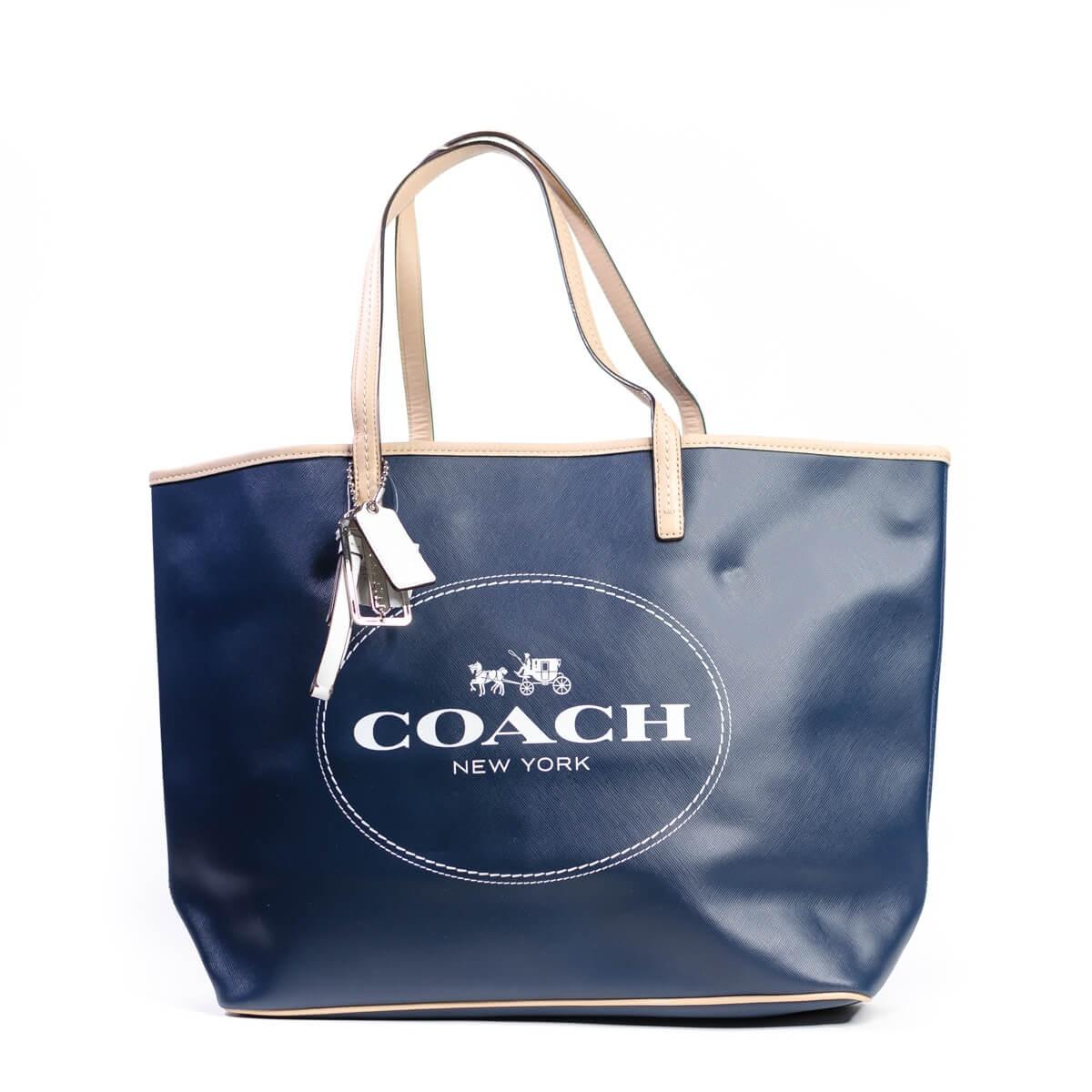 7700c24978ed Coach Blue Tote Bag