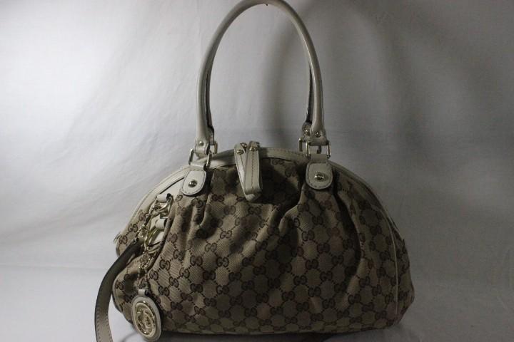 136c900efbdac4 Gucci GG Canvas Medium Sukey Boston Bag Buy Online, Preloved & 100 ...