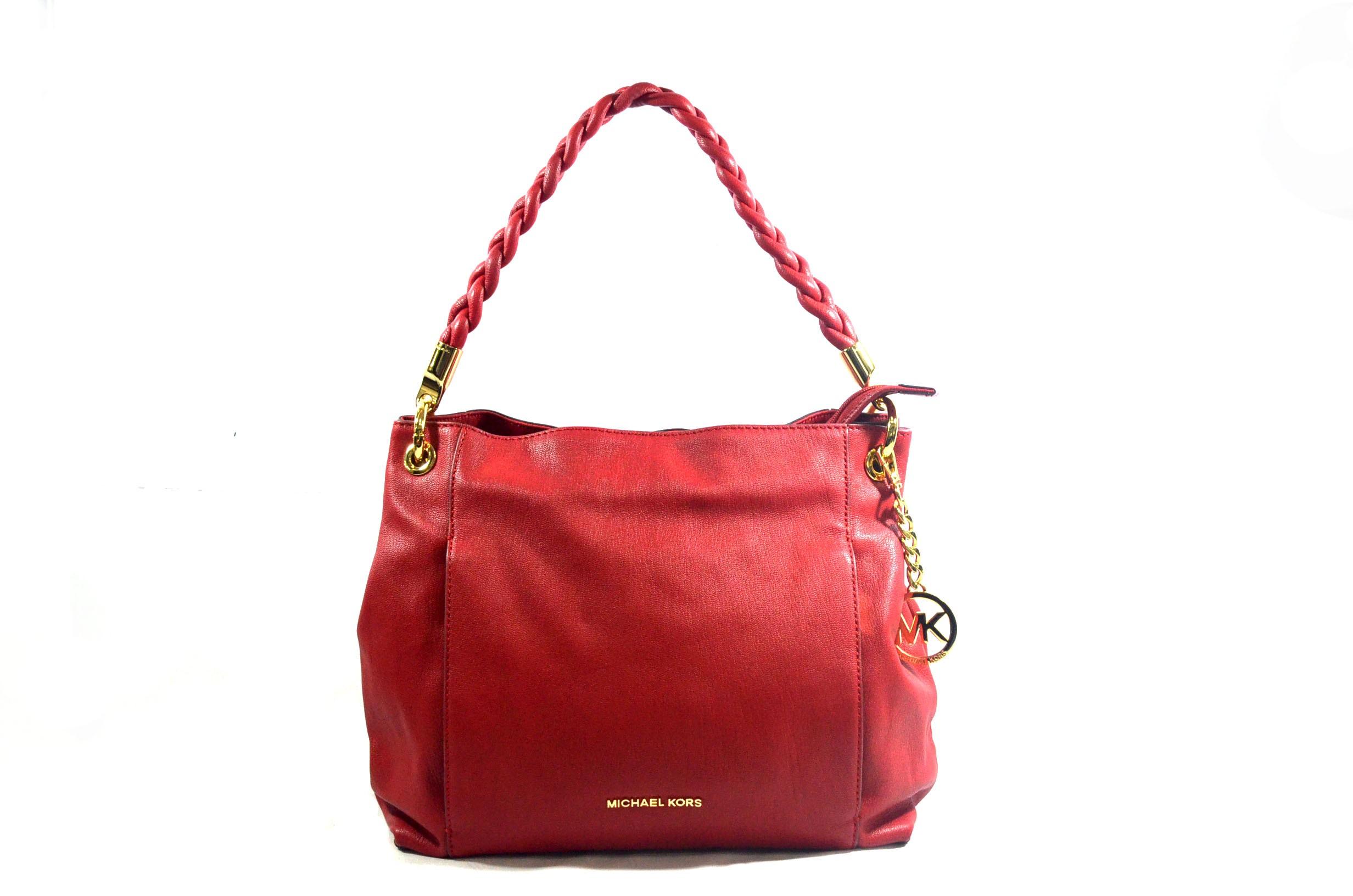 85c35bd576cc Michael Kors Naomi Chili Shoulder Bag Buy Online, Preloved & 100 ...