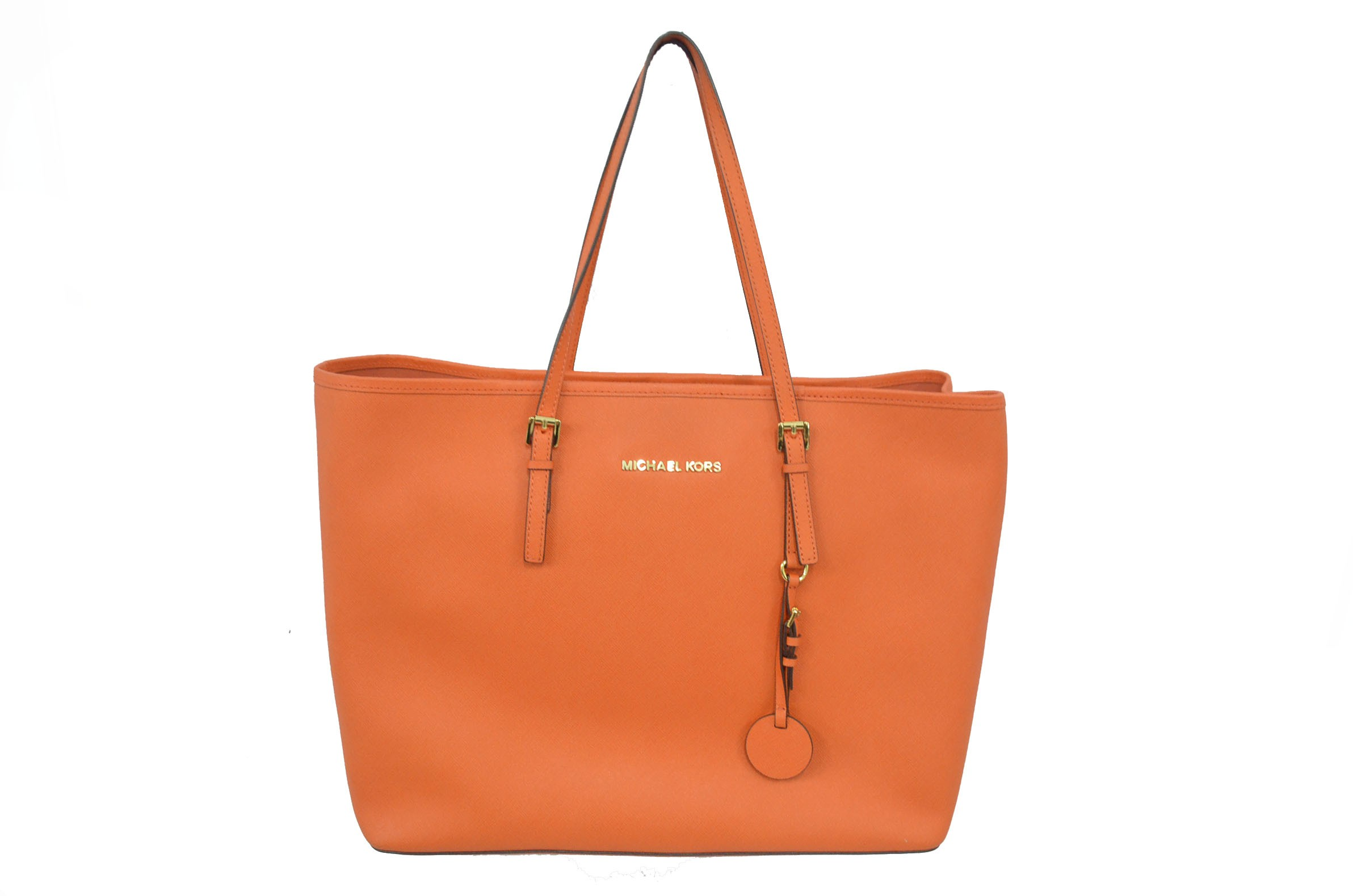 Michael kors tote bags philippines - Michael Kors Jet Set Travel Tote Tangerine
