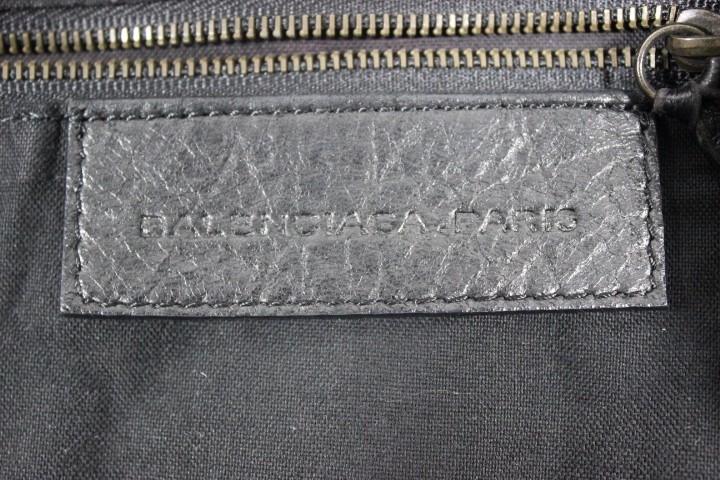 a1283d1b6d lightbox moreview · Balenciaga The Courier 159671 Black Leather Shoulder Bag  lightbox moreview · Balenciaga The Courier ...