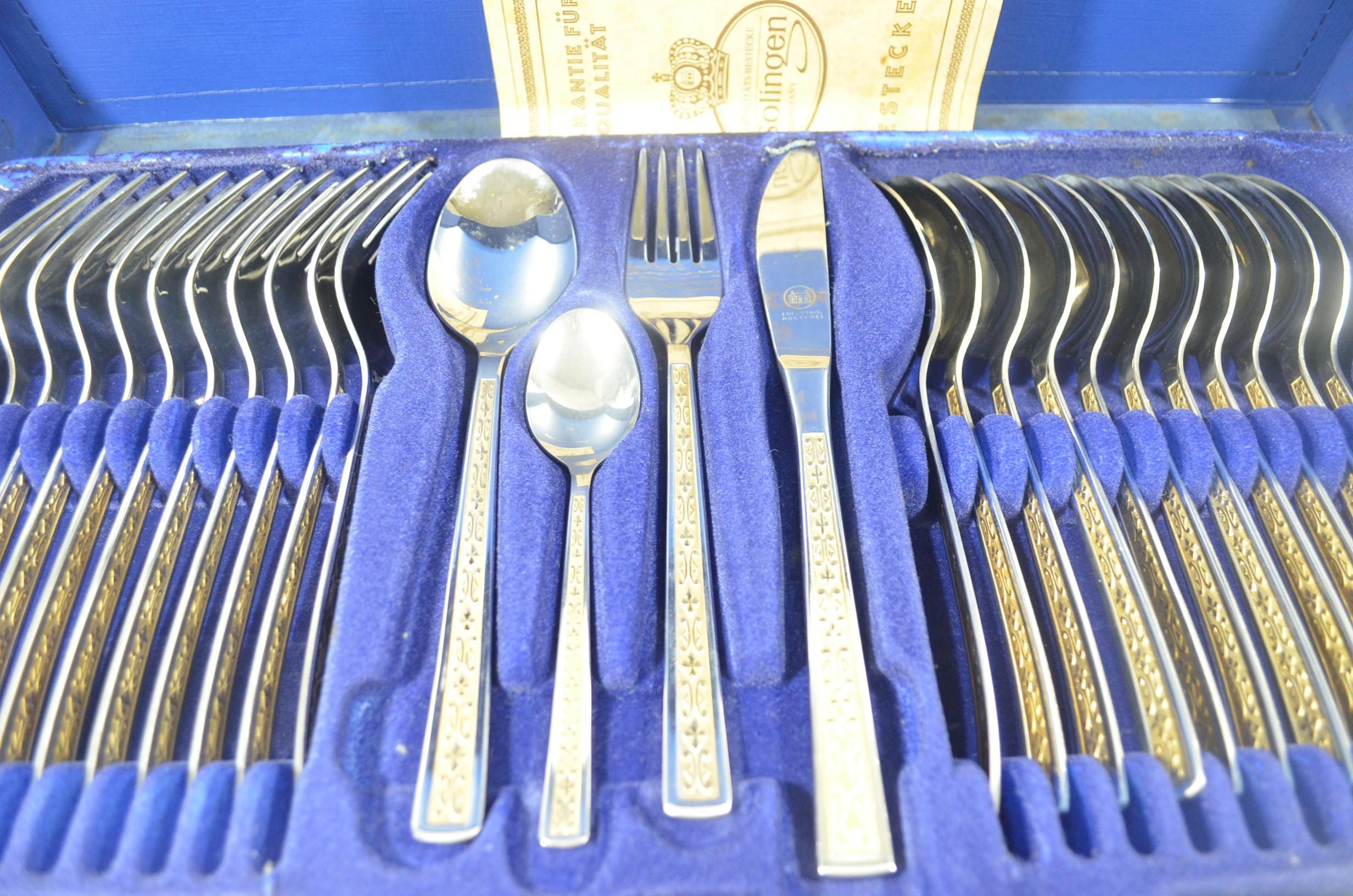 Solingen Gold Plated Cutlery Set Buy Online, Preloved & 100 ...