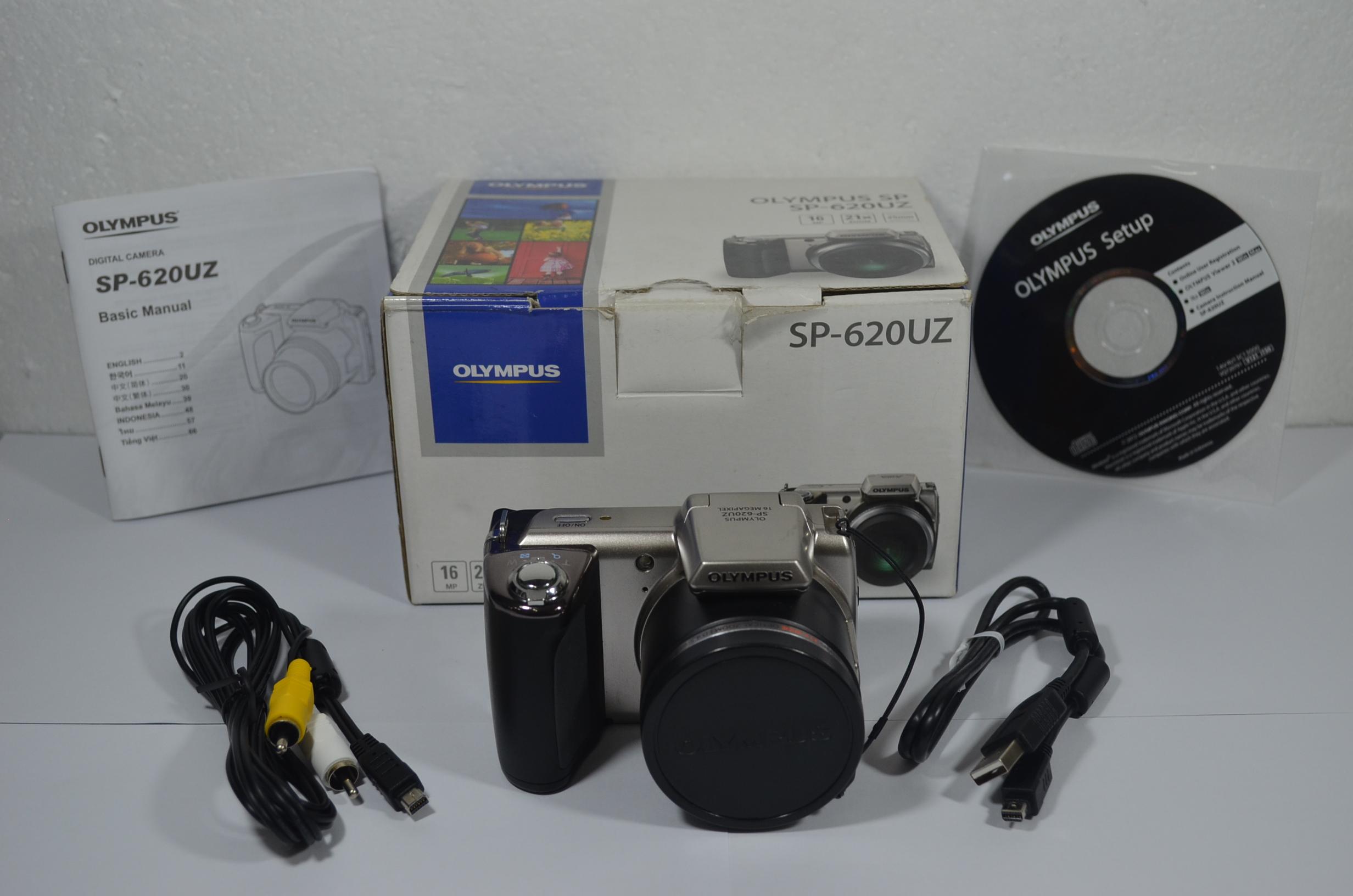 Olympus SP-620UZ 16MP Digital Camera with 21x Optical Zoom