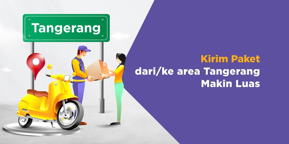 Wajib Tau! 4 Area Baru Paxel di Tangerang