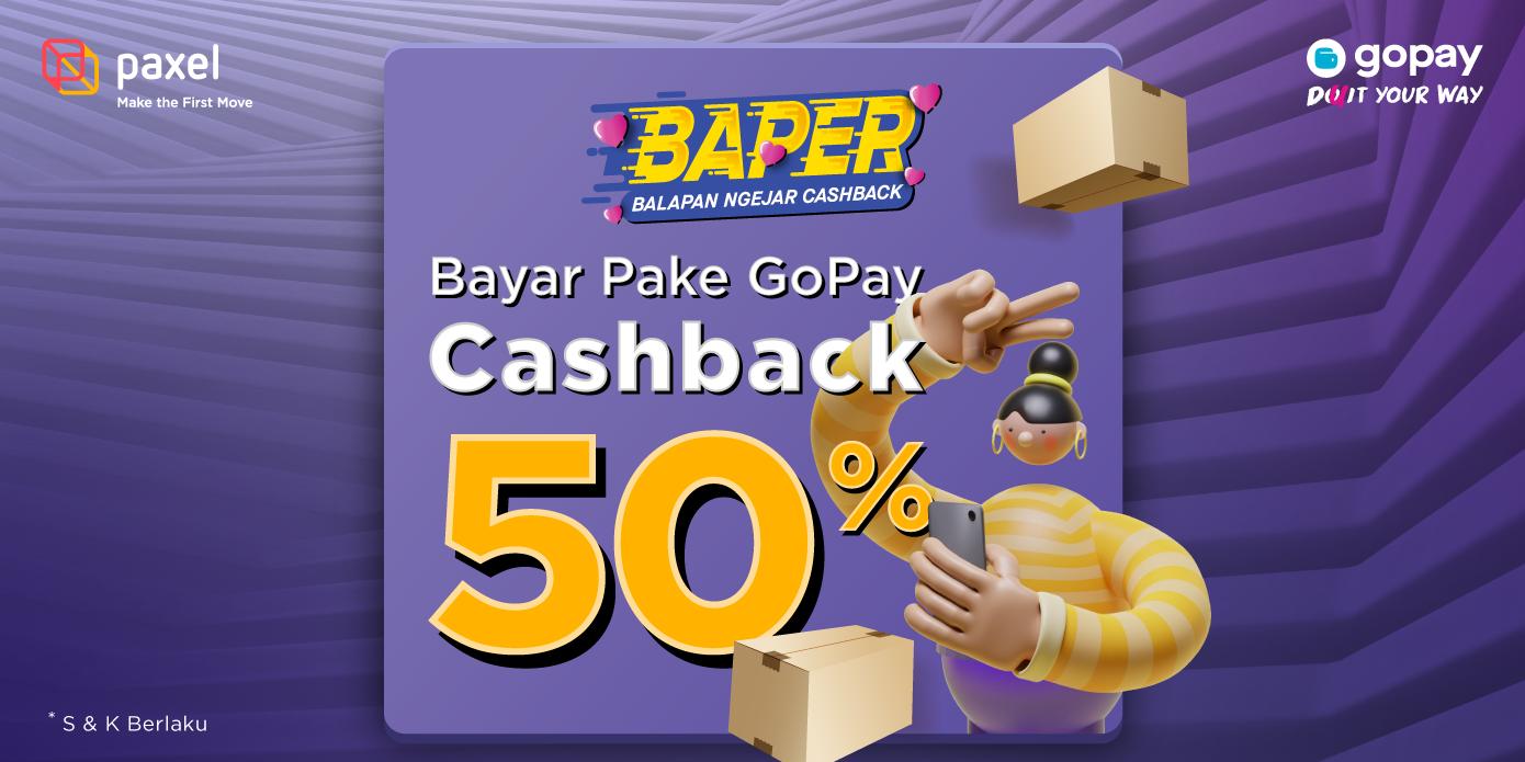 Kirim Paket Sameday Pakai GoPay Cashback 50%!