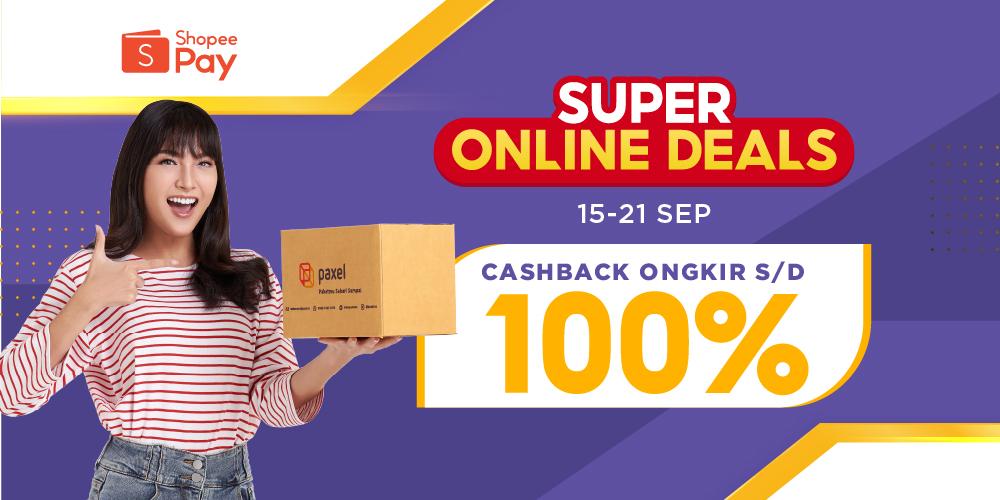 Dapetin Cashback hingga 100% dengan Bayar Pakai ShopeePay!