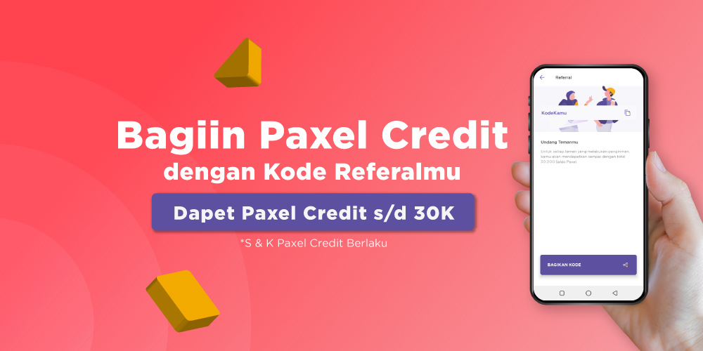 Kode referal paxel dapat gratis credit saldo