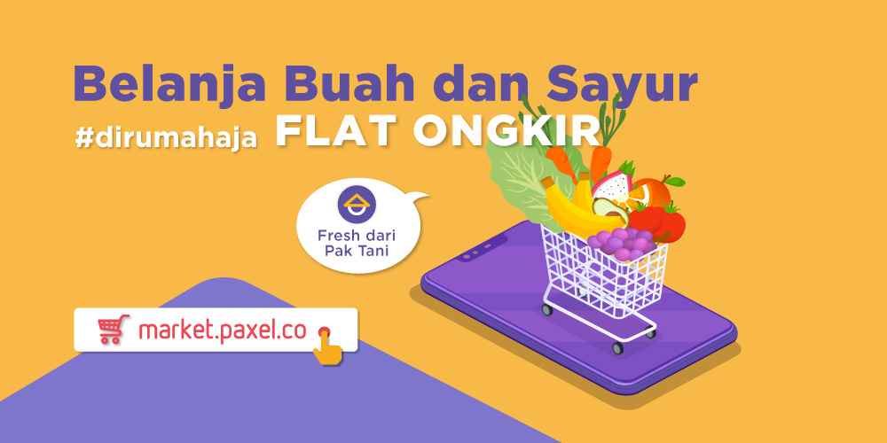Shop Fruits and Veggies in PaxelMarket, Flat Price Delivery!