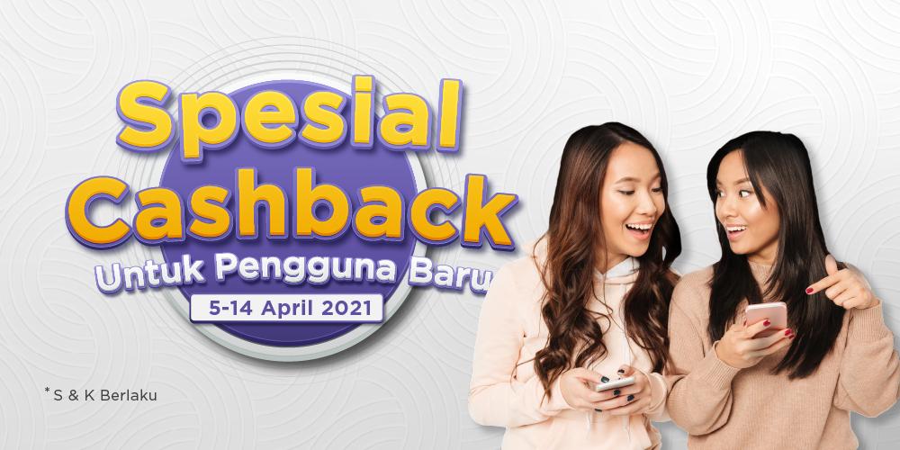 Ada Cashback untuk pengguna baru aplikasi Paxel!