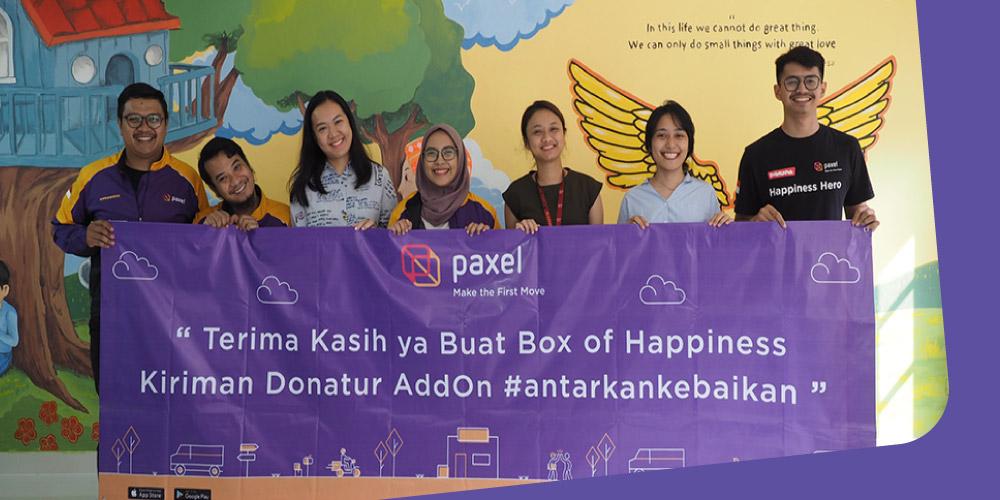 Gerakan #AntarkanKebaikan dengan Rumah Harapan Indonesia