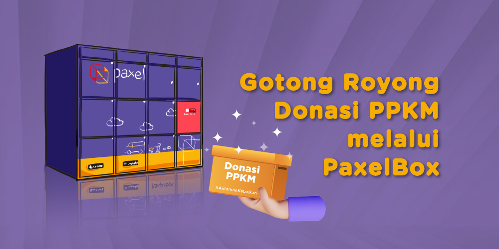 Donasi PPKM melalui PaxelBox