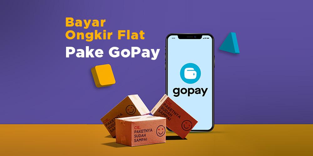Bayar Ongkir Flat Paxel dengan GO-PAY