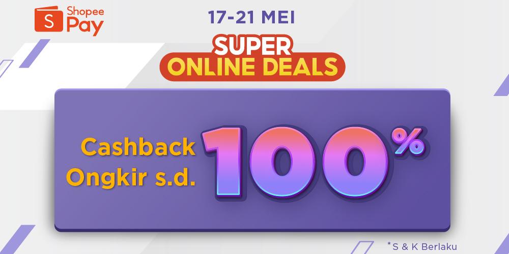 Cashback hingga 100% dengan pembayaran ShopeePay di aplikasi Paxel!