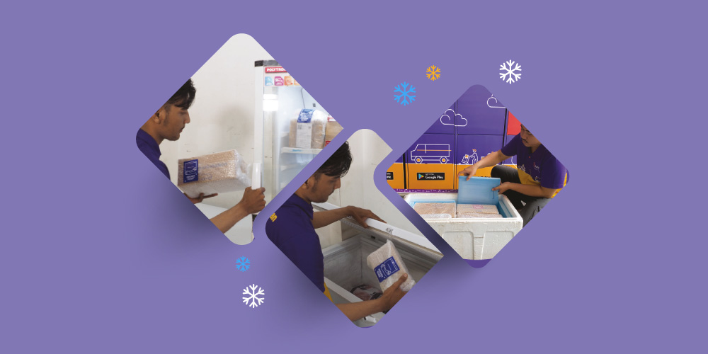 Kiriman Paket Frozen Food Tetap Aman dengan Paxel
