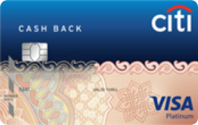 Citibank Cashback Card- Features, Benefits and Fees. Apply now.