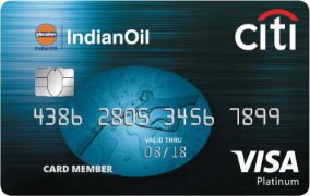 Citibank IndianOil City Platinum Card- Features, Benefits and Fees