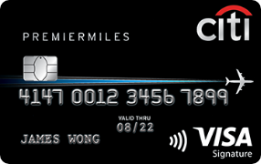 Citibank PremierMiles Card- Features, Benefits and Fees. Apply now.