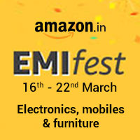 EMI Fest 16 -22 nd March Electronics, mobiles & furniture