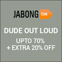 Dude Out Loud UPTO 70% Off + Extra 20% Off