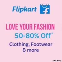 Clothing & Footwear upto 80% off