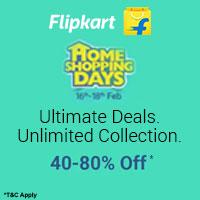Flipkart Home Shopping Upto 80% off