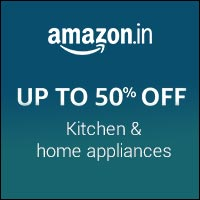 UP TO 50% OFF Kitchen & Home Appliances