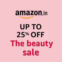 UPTO 25% OFF The Beauty Sale