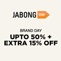 Brand Day UPTO 50%  +  EXTRA 15% OFF