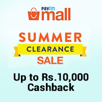 Summer Clearence Sale Up To Rs. 10000 Cashback