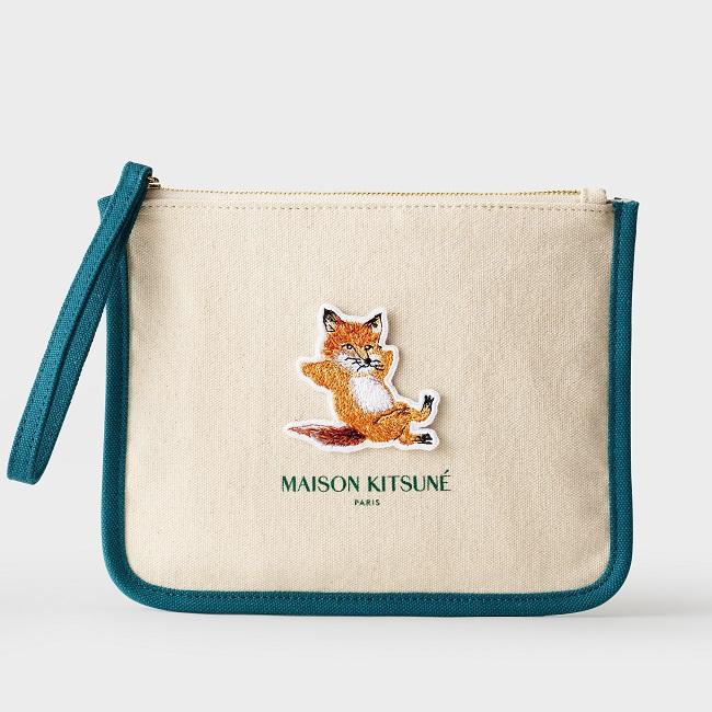 霧感持久NEO Cushion x Maison Kitsune 時尚化裝袋套裝
