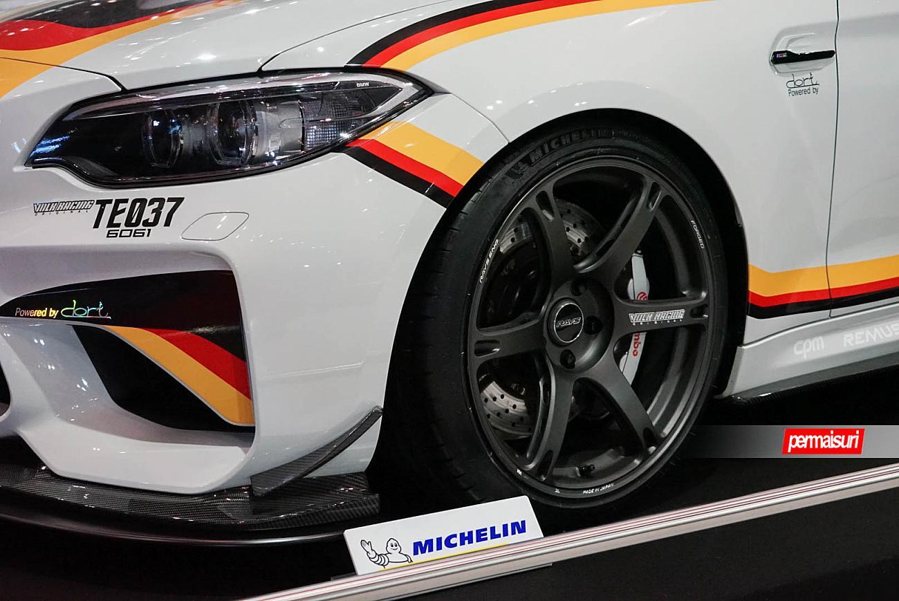 Permaisuri Debut Velg Forged Volk Racing Te037 Di Tokyo