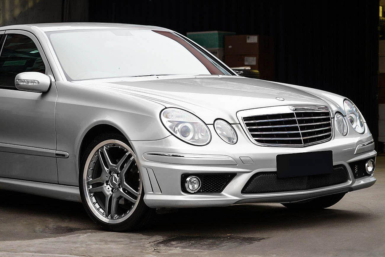 permaisuri mercedes benz w211 with amg style v 5 spoke w220. Black Bedroom Furniture Sets. Home Design Ideas