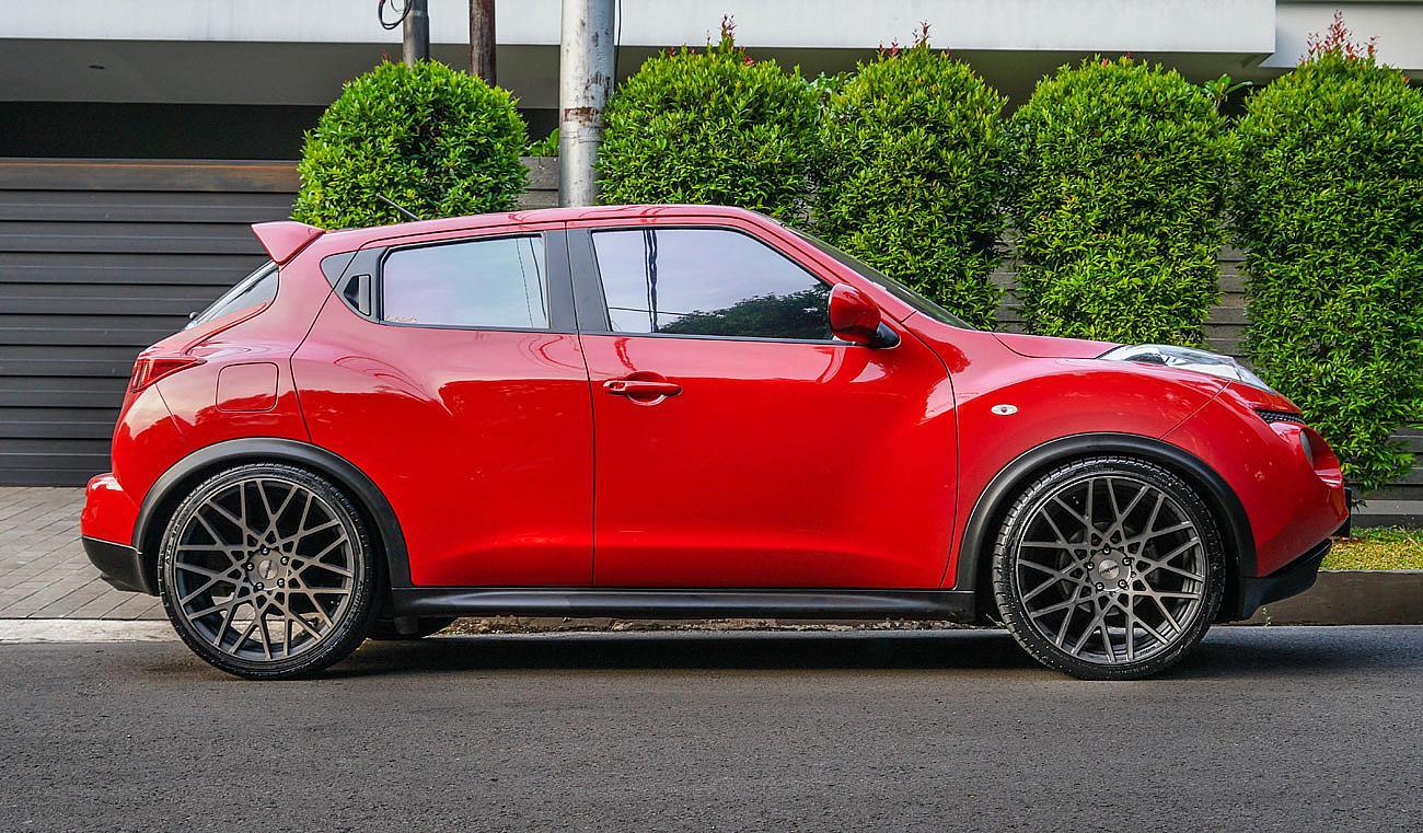 Nissan Juke Tire Size >> Permaisuri Nissan Juke On Rotiform Blq 20