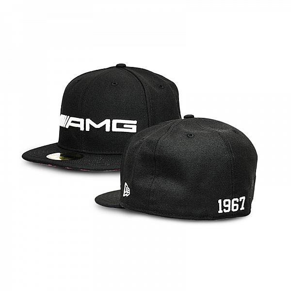 AMG Cap NEW ERA Red Brim Bottom