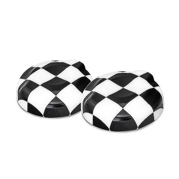 ABS Fuel Tank Cap Cover Checkered Flag