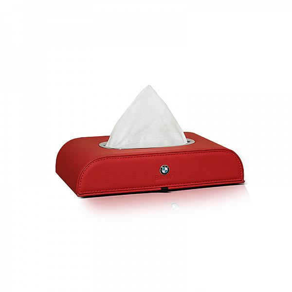 Tissue Box Motif BMW Red