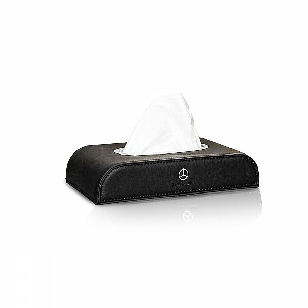 Tissue Box Motif Mercedes Benz Black