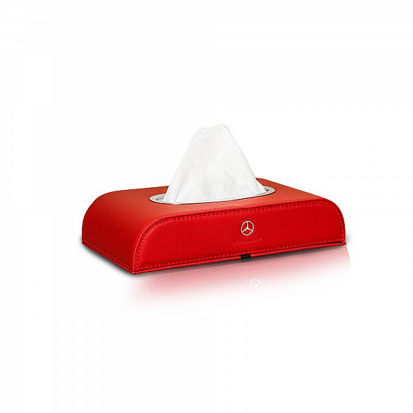 Tissue Box Motif Mercedes Benz Red